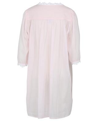 Nachthemd aus Baumwollvoile und Spitze mit U-Ausschnitt Ariella CELESTINE