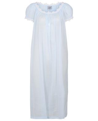 Ariella-1 nightshirt with short puff sleeves CELESTINE