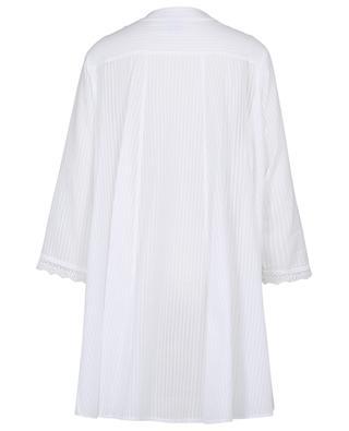 Diana A-line striped veil night shirt CELESTINE
