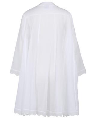 Galina embroidered cotton veil nightshirt CELESTINE