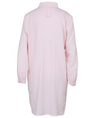 Rani striped flannel night shirt CELESTINE