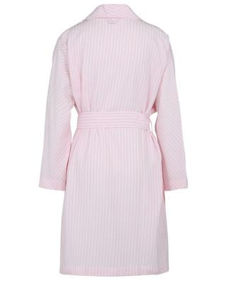 Rani striped flannel bathrobe CELESTINE
