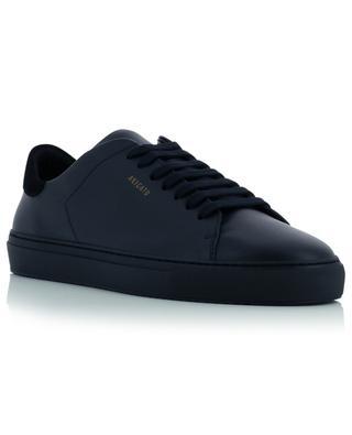 Clean 90 suede heel cap leather sneakers AXEL ARIGATO