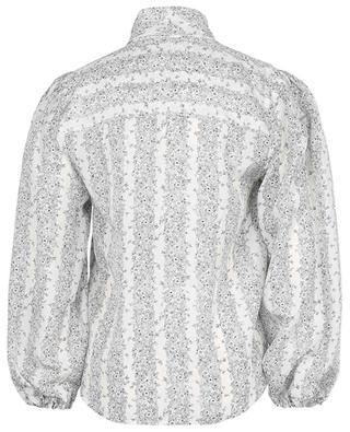 Bluse mit Schluppe aus Habotai-Seide Floral Stripes SEE BY CHLOE