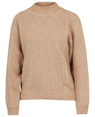 Virgin wool and cotton mock neck jumper SEE BY CHLOE