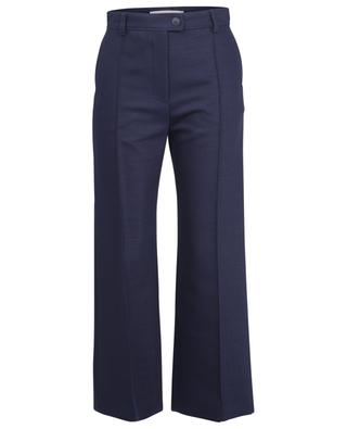 Flared high-rise wool twill trousers SEE BY CHLOE