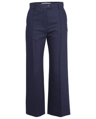 Ausgestellte Hose mit hoher Taille aus Woll-Twill SEE BY CHLOE