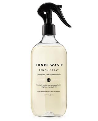 Duftendes Reinigungsspray Bench Spray Lemon Tea Tree & Mandarin - 500 ml BONDI WASH