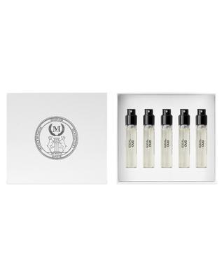 Coffret recharges eau de parfum Ideal Oud - 5 x 5 ml MIZENSIR