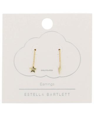 Boucles d'oreilles plaquées or étoile et éclair Star & Lighning Bolt ESTELLA BARTLETT