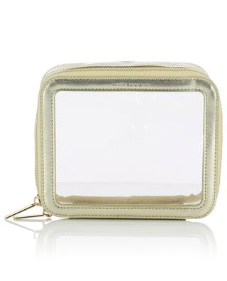Clear cosmetic pouch - gold ESTELLA BARTLETT
