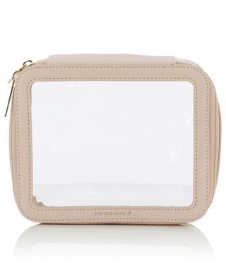 Clear cosmetic pouch - pink ESTELLA BARTLETT