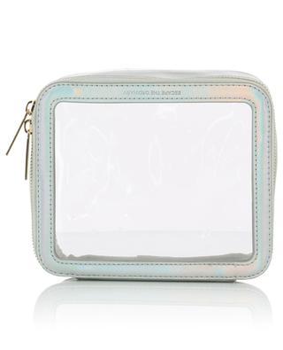 Clear cosmetic pouch - iridescent ESTELLA BARTLETT