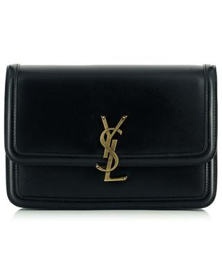 Solferino Medium monogrammed leather shoulder bag SAINT LAURENT PARIS