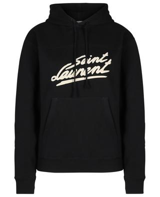 Saint Laurent '50s Signature logo printed hoodie SAINT LAURENT PARIS