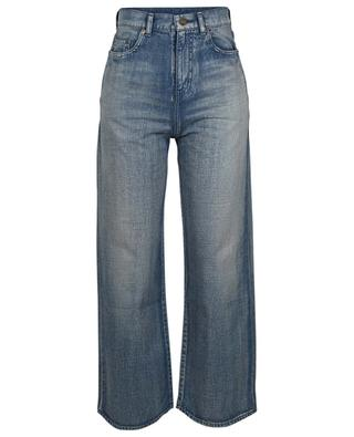 Wide-leg jeans in dirty blue SAINT LAURENT PARIS