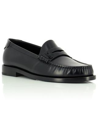 Mocassins en cuir lisse brillant Le Loafer 15 SAINT LAURENT PARIS