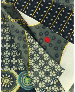 Stola aus Wolle mit Print und Stickereien Conte STORIATIPIC