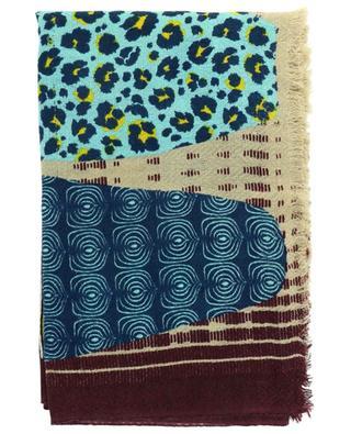 Stola aus Wolle und Seide mit Print Envie STORIATIPIC