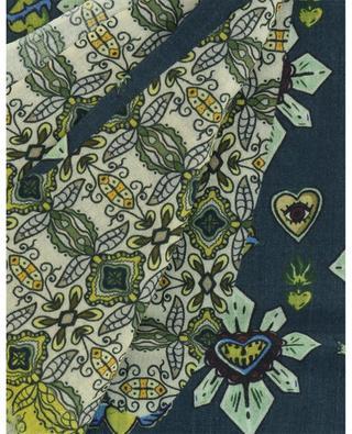 Stola aus Wolle und Seide mit Print Ibis STORIATIPIC