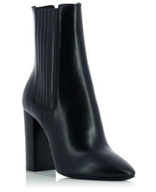 Stiefeletten aus Leder mit Blockabsatz Mica 100 SAINT LAURENT PARIS