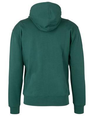 Ami de Coeur zippered cotton hoodie AMI