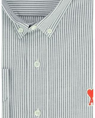 Ami de Coeur Pinstripe Oxford shirt AMI