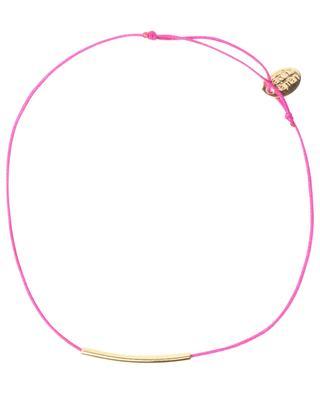Bracelet cordon avec détail plaqué or Fineline CAROLINE NAJMAN