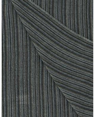 Patrick striped twill cashmere scarf 19 ANDREA'S 47