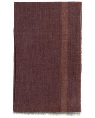 Écharpe tissée en cachemire à rayure James 19 ANDREA'S 47