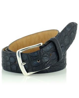 Cocco crocodile leather belt ANDREA D'AMICO