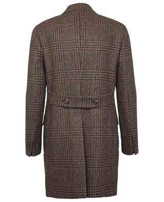 Manteau en alpaga à carreaux prince-de-galles Cmana BARBA