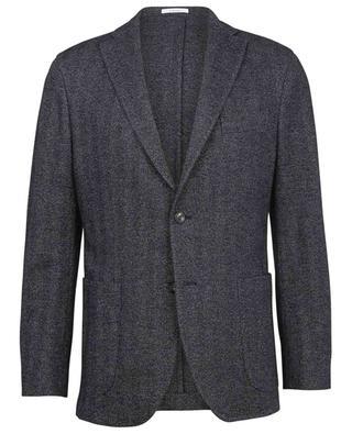 K-Jacket supple herringbone jersey blazer BOGLIOLI
