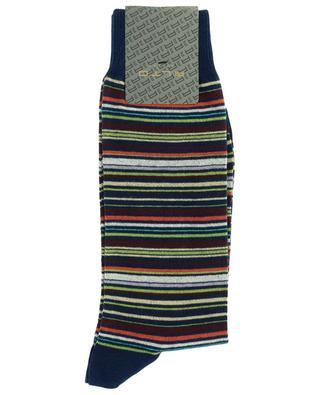 Chaussettes rayées en coton mélangé Emerald ALTO