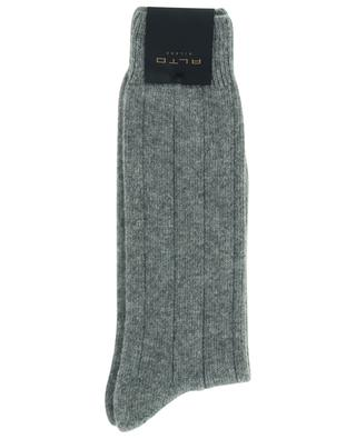 Virgin wool and cashmere blend thick socks ALTO