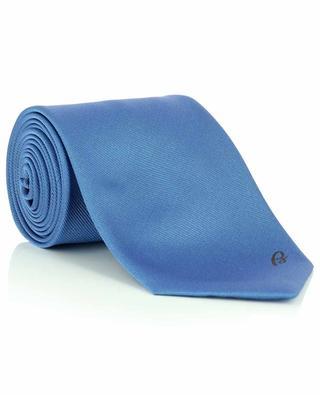 Cravate en soie avec logo brodé BRIONI