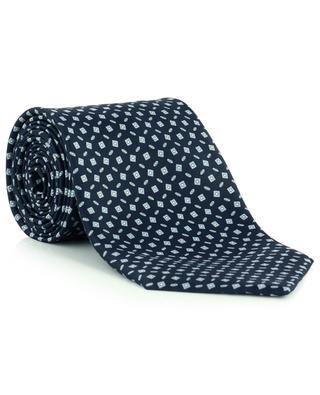 Krawatte aus Seide mit Print BRIONI