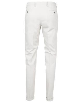 Velvety gabardine skinny fit chino trousers B SETTECENTO