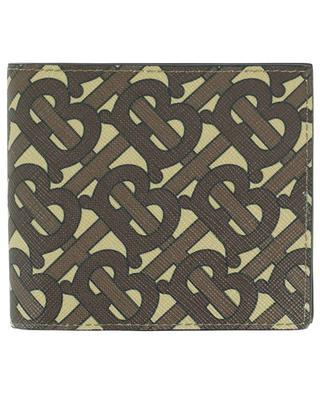 Brieftasche aus beschichtetem Öko-Canvas Monogram BURBERRY