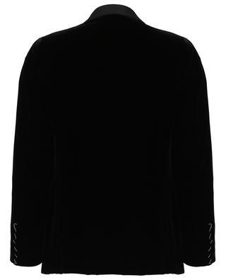 Aida velvet blazer with satin details CARUSO