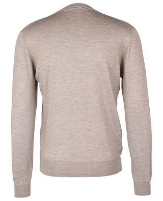 Fine cashmere and silk crewneck jumper CRUCIANI