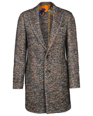 Wool blend mid-length coat ETRO