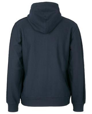 Cotton and velvet zippered hoodie ETRO