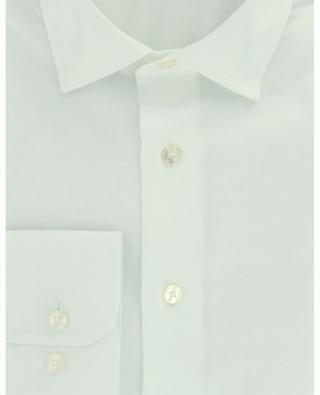 Floral jacquard and paisley detail adorned regular shirt ETRO