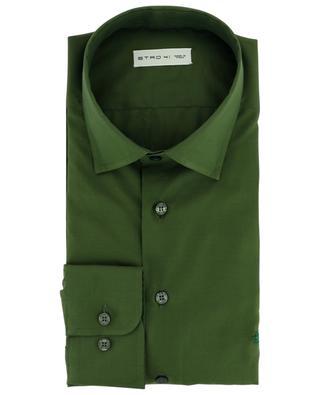Embroidered pegasus cotton shirt ETRO