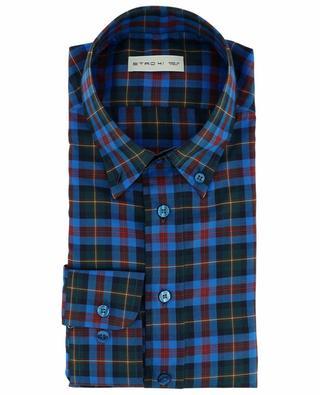 Chemise à carreaux en coton ETRO