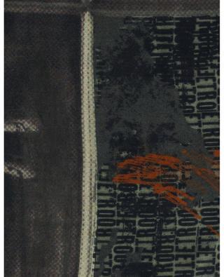 Delhy Pegaso and logo print lightweight scarf ETRO
