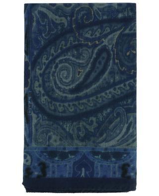 Cashmere and silk paisley scarf ETRO
