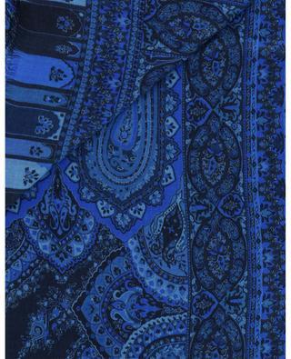 Schal aus Wolle und Seide mit Paisleyprint ETRO