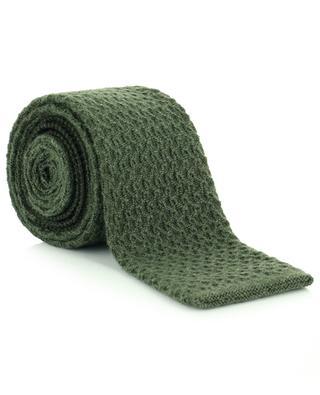 Cashmere knit tie DRAKES